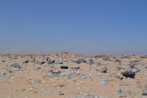 tierra de nadie I. Entre el Sahara Occidental y Mauritania