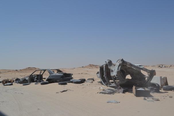 Tierra de nadie III. Entre el Sahara Occidental y Mauritania