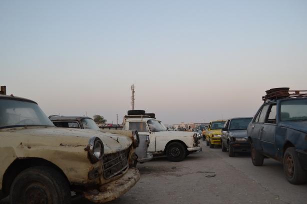 Trafico en Mauritania