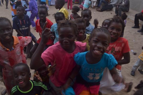 niños en Saint Louis