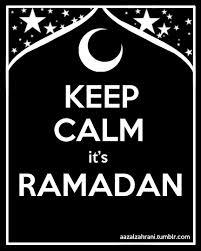 keep calm its ramadan