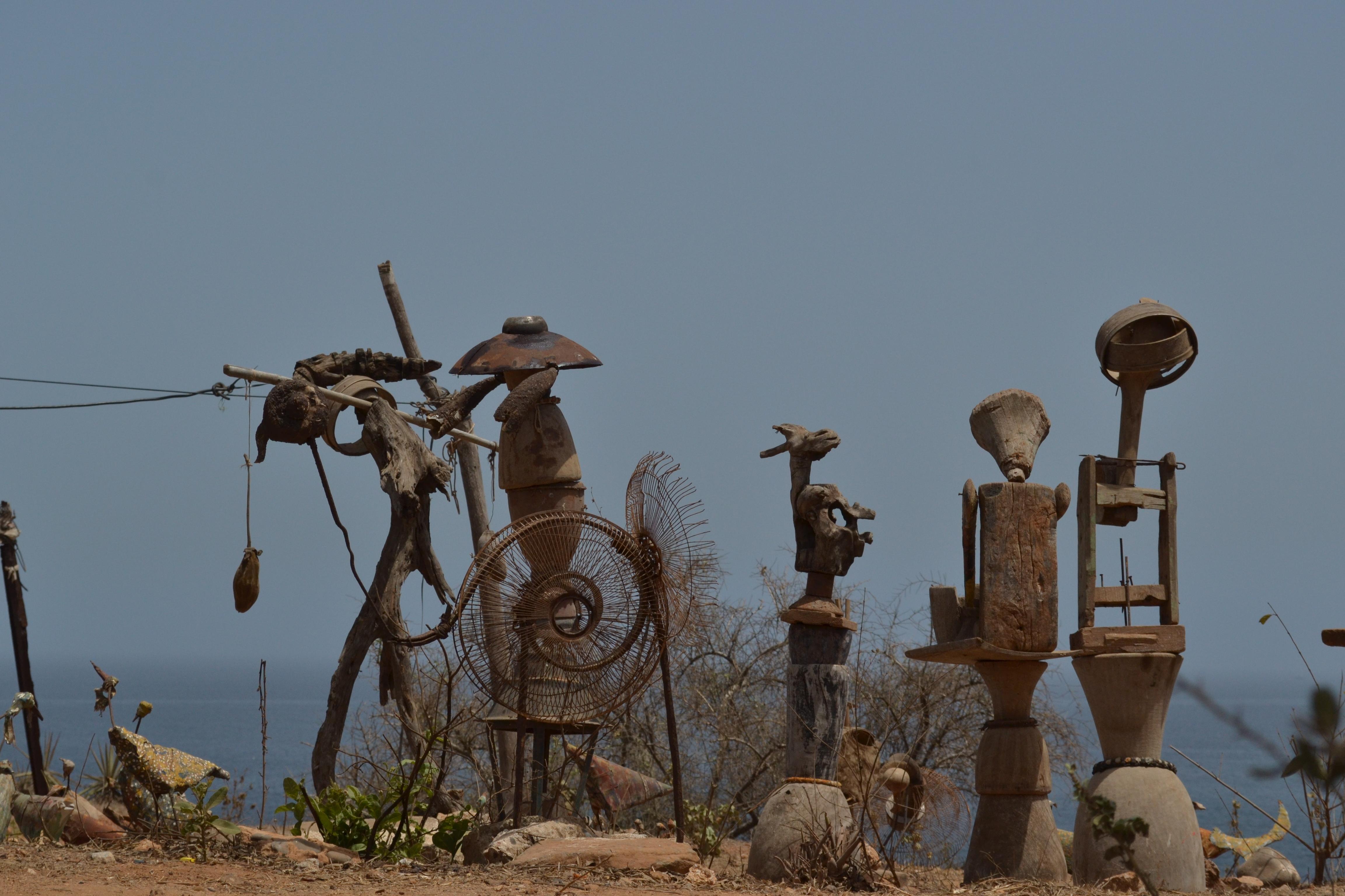 arte en Isla de Goré, Dakar