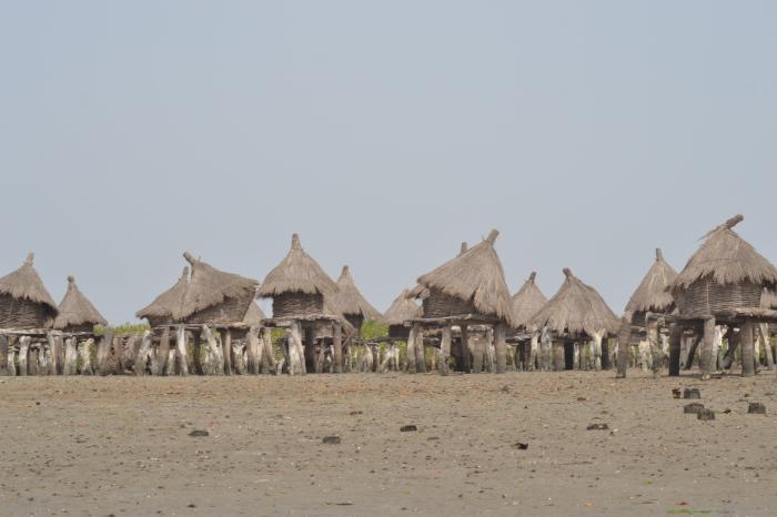 Graneros de Fadiouth. Senegal