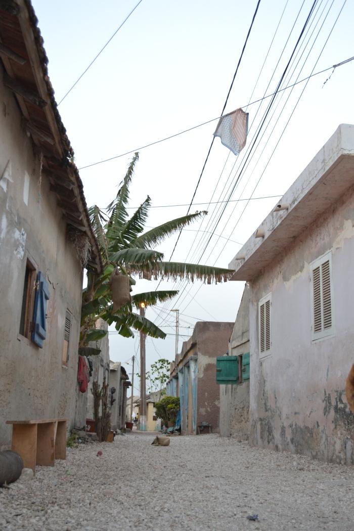 las calles de Fadiouth