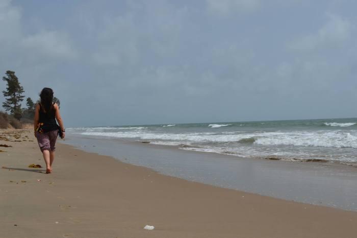 playa de Abéné, Senegal, Casamance