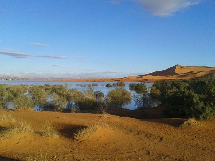 Lago Yasmina: Erg Chebbi
