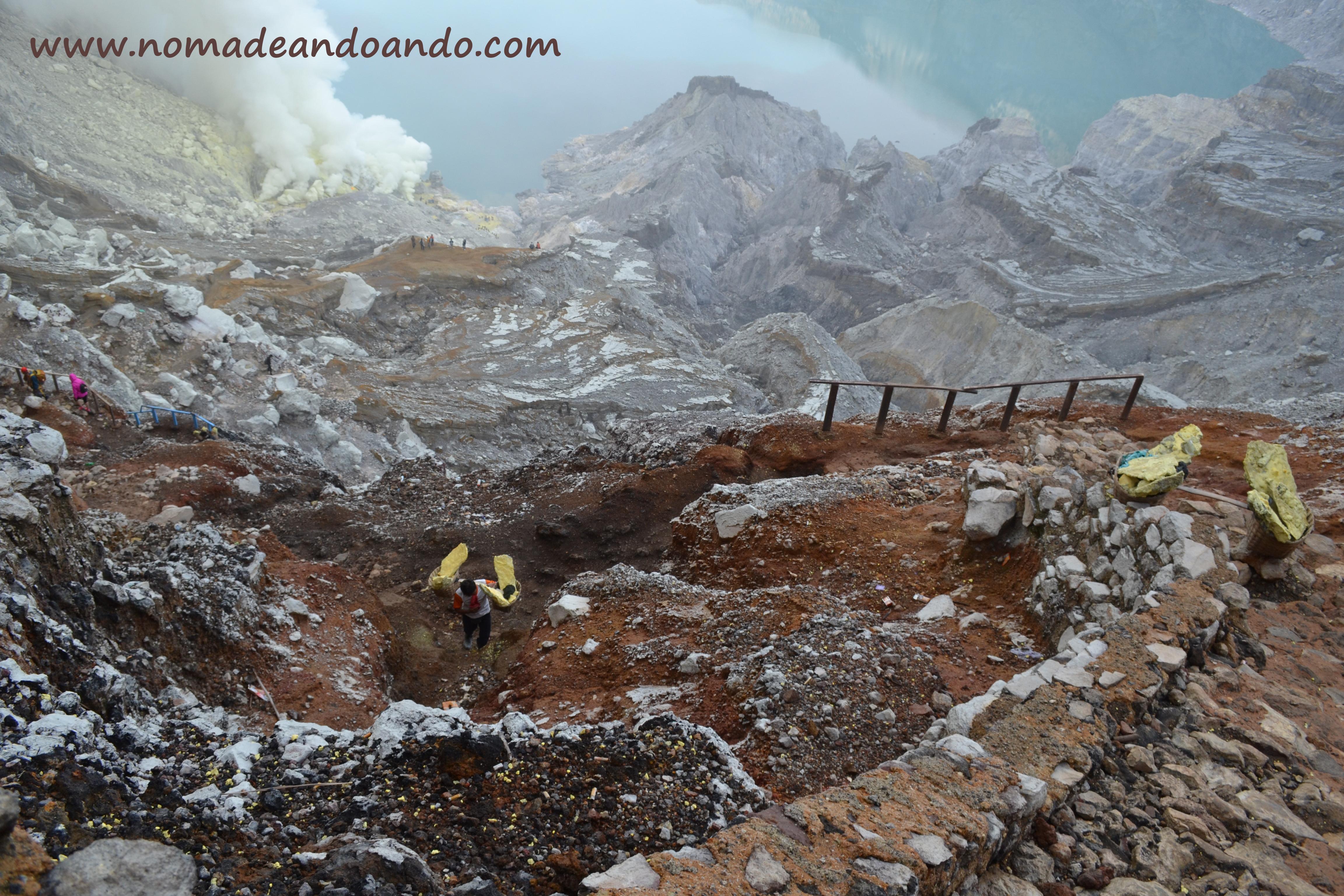 Kawah Ijen. Volcanes Indonesia