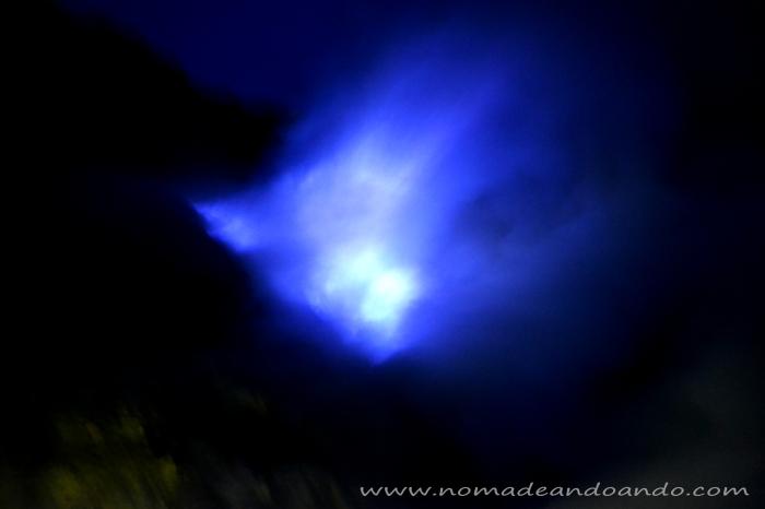 luces azules kawa ijen